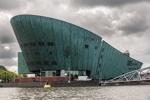 NEMO Science museum in Amsterdam, the Netherlands.