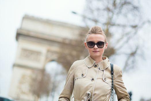 Beautiful Parisian woman