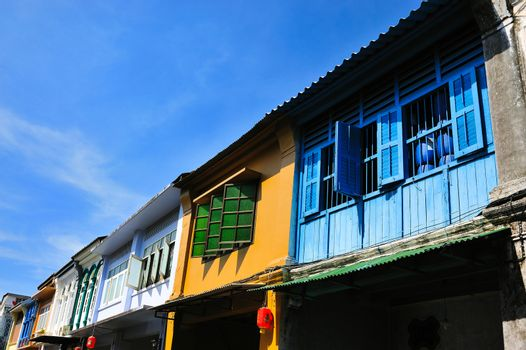 Old building in Phuket town