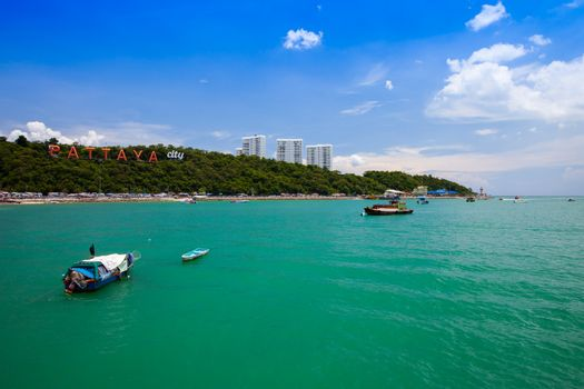 Pattaya view under clear sky