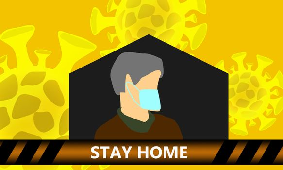 Campaign to stay at home, avoid Corona virus