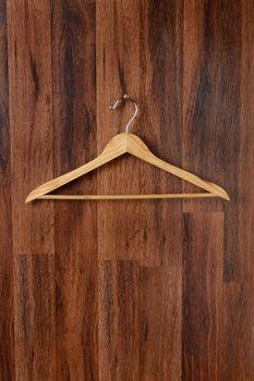 Empty Wooden Hanger