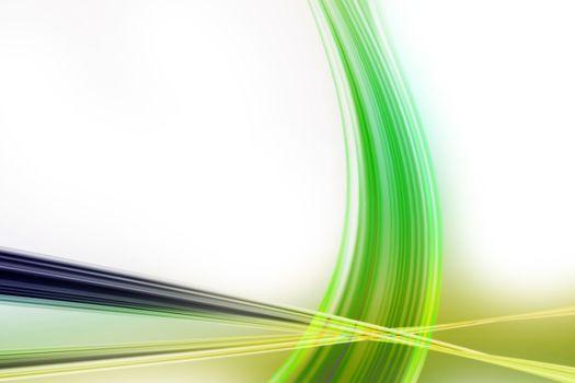 Abstract elegant eco wave background design illustration