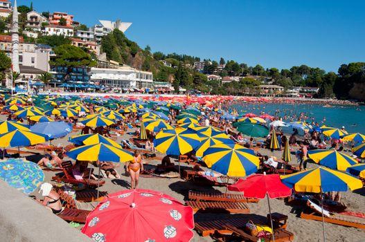 Small Beach in Ulcinj - Montenegro