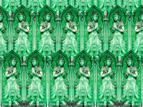 worship of green angel