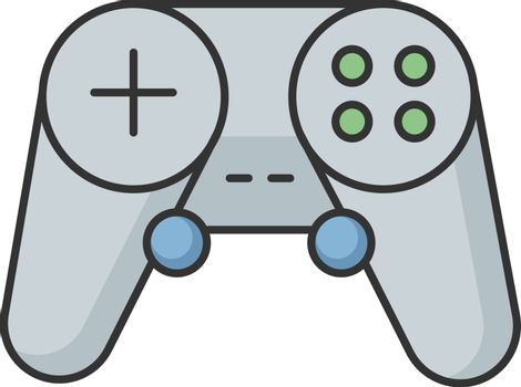 Gamepad RGB color icon