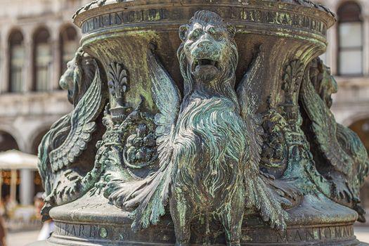 Renaissance bas relief in Venice