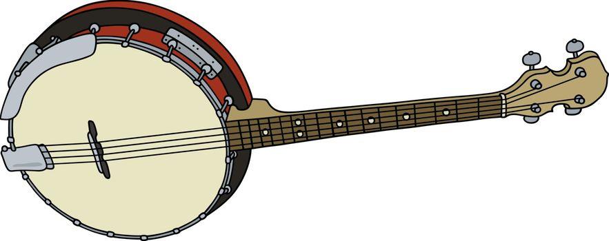 Four strings banjo