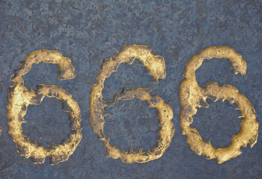 The number of the beast 666