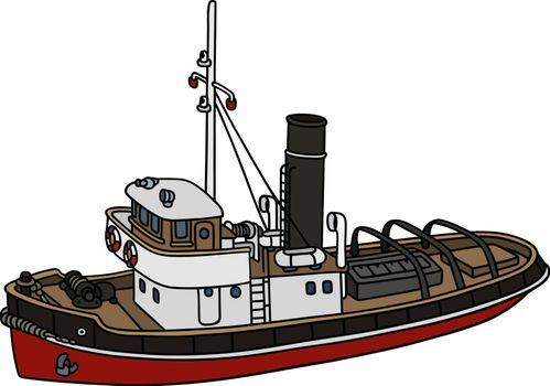 Old harbour tugboat