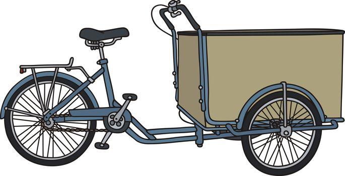 Classic freight rickshaw