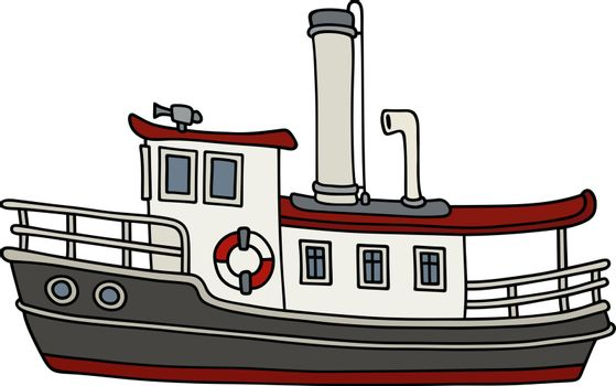 Funny old  steamboat