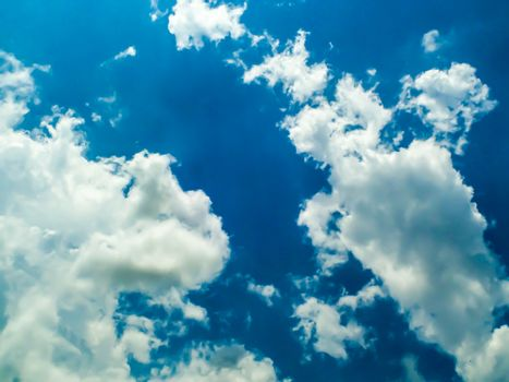 cloud sky and heaven sunshine a day