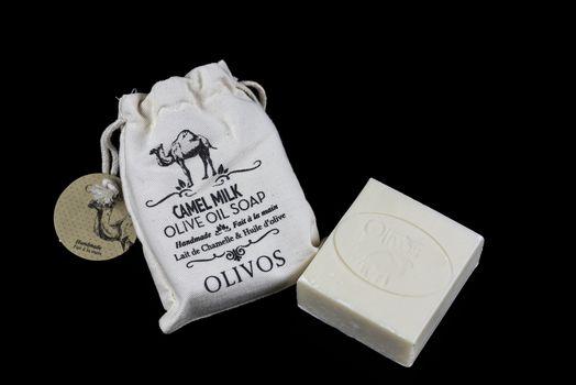 Camel Milk Olive Oil Hard Soap, OLIVOS brand. Hand made type - NO PROPERTY RELEASE