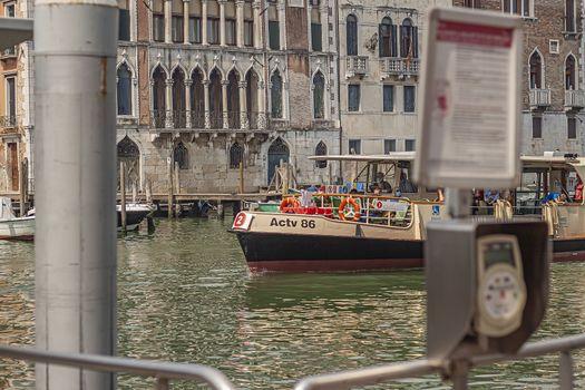 Venice ferry public transportation