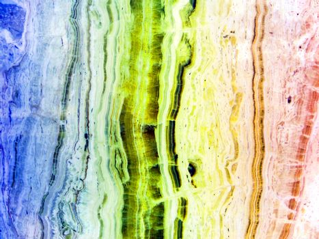 cold and hot color marble main jewel river line middle frame