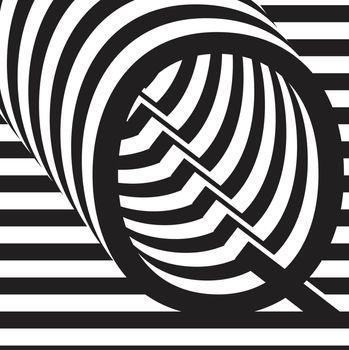 letter Q design template