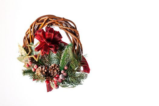 Christmas decoration. Background for christmas cards