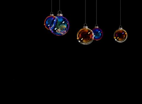 Christmas Balls - Christmas cards designs for cards and web