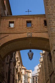 Toledo Cathedral Arch in Castile La Mancha of Spain
