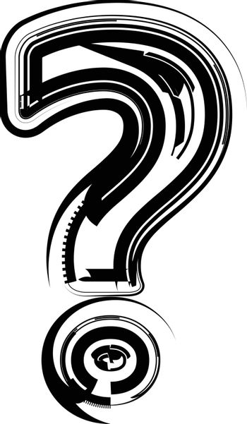 Abstract Question Mark