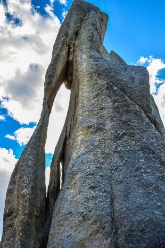 A naturally occurred granite rocks in the preserve state park