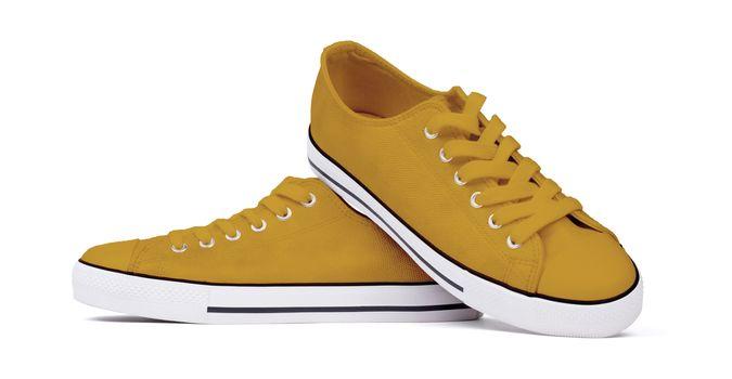Shoes isolated on white background - Orange