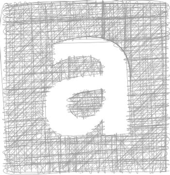 Freehand Typography Letter a