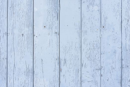 Vintage light blue pastel colored wooden planks background texture