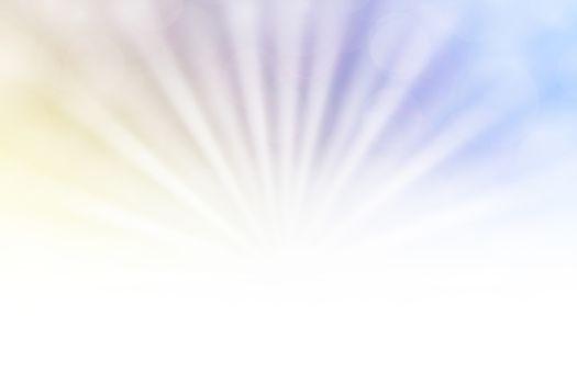 soft purple bokeh lights beam shine on gradient purple background and white copy space, bokeh colorful light purple soft shade, bokeh lights shine on gradient soft purple and white