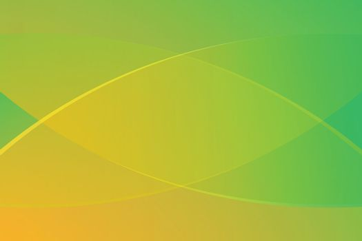 green and yellow gradient color soft light and line graphic for cosmetics banner advertising luxury modern background