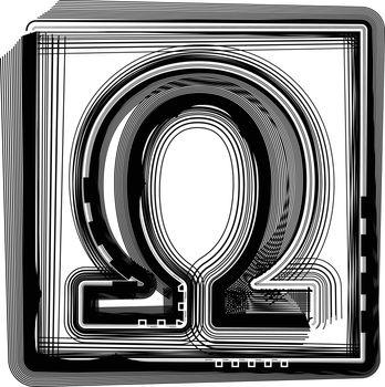 OMEGA Striped Symbol