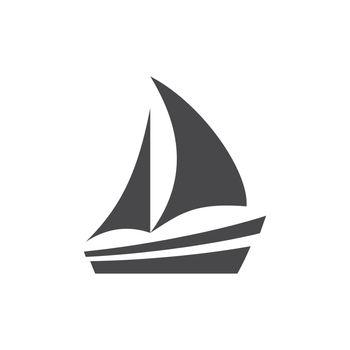 Boat pictogram glyph symbol