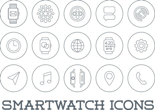 15 Fresh Smart Watch Trendy Icons