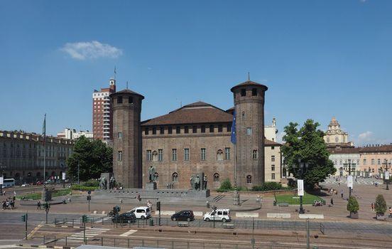 Piazza Castello square in Turin