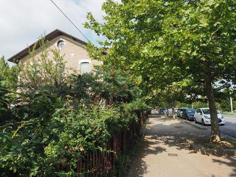 Leumann village residences in Collegno