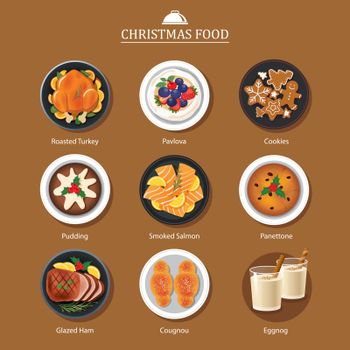 Food for festival christmas and thanksgiving
