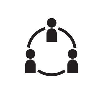 organization icon illustration