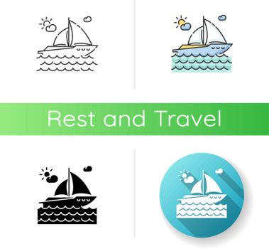 Yachting icon
