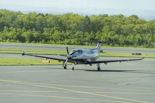 Twin Propeller PILATUS Eagle