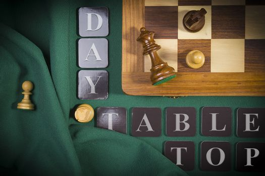 The poster for the event in June - Tabletop Day