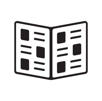 menu / catalog / newspaper icon