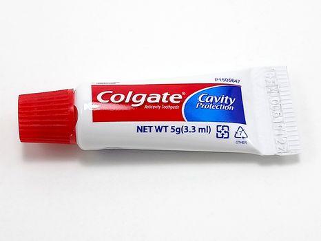 MANILA, PH - JUNE 23 - Colgate toothpaste on June 23, 2020 in Manila, Philippines.