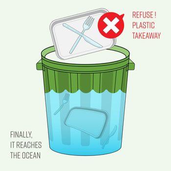 Refuse Plastic Takeaway