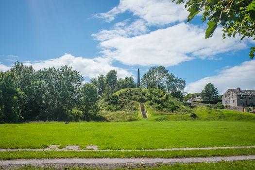 Castle Howe Monument Beast Banks Kendal Cumbria UK