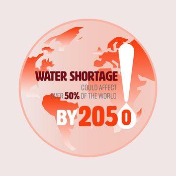 Water Shortage World 2050