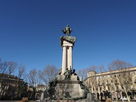 Vittorio Emanuele II statue in Turin
