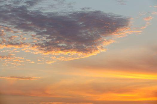 beautiful sunset sky for background, Madagascar, Nosy Be