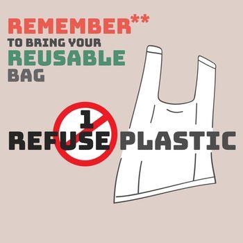 Remember Bring Reusable