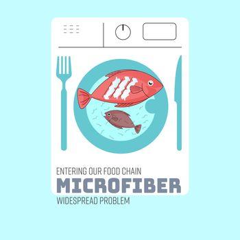 Eating Microfiber ADS
